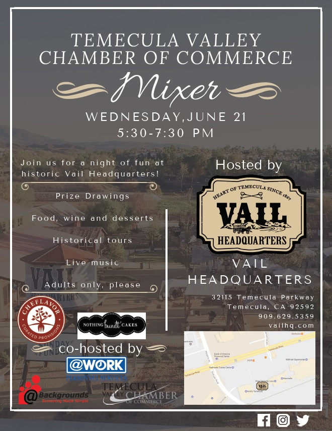 June Mixer @ Vail Ranch Headquarters | Temecula | California | United States