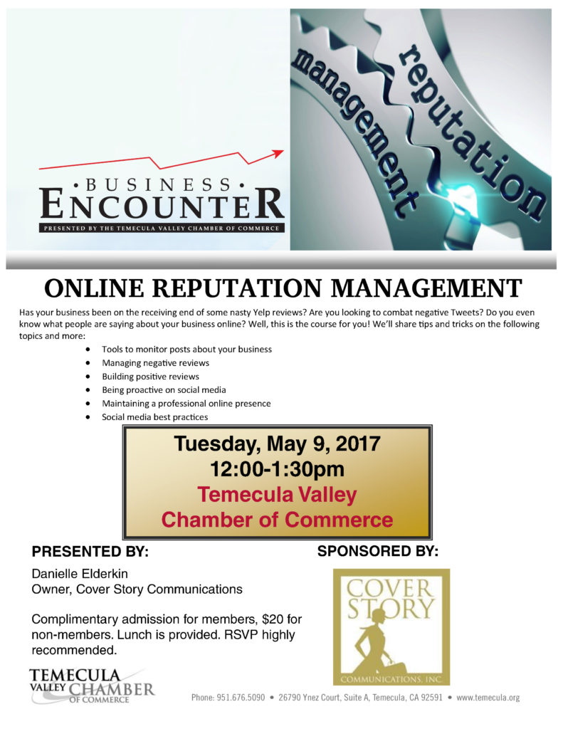 Business Encounter: @ Temecula Valley Chamber of Commerce | Temecula | California | United States