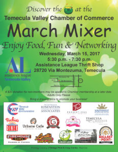 March 2017 Mixer Flyer