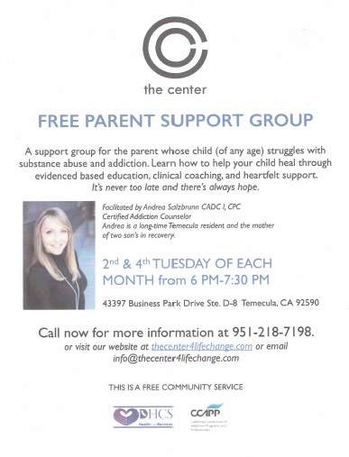 The Center Free Parent Support