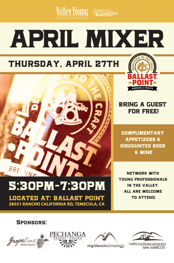 VYP Mixer at Ballast Point @ Ballast Point | Temecula | California | United States