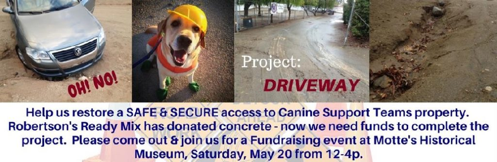 Project Driveway Fundraising Event! @ Motte Historical Museum | Menifee | California | United States