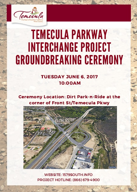 Temecula Parkway Interchange Project Groundbreaking Ceremony @ Dirt Park-N-Ride | Temecula | California | United States