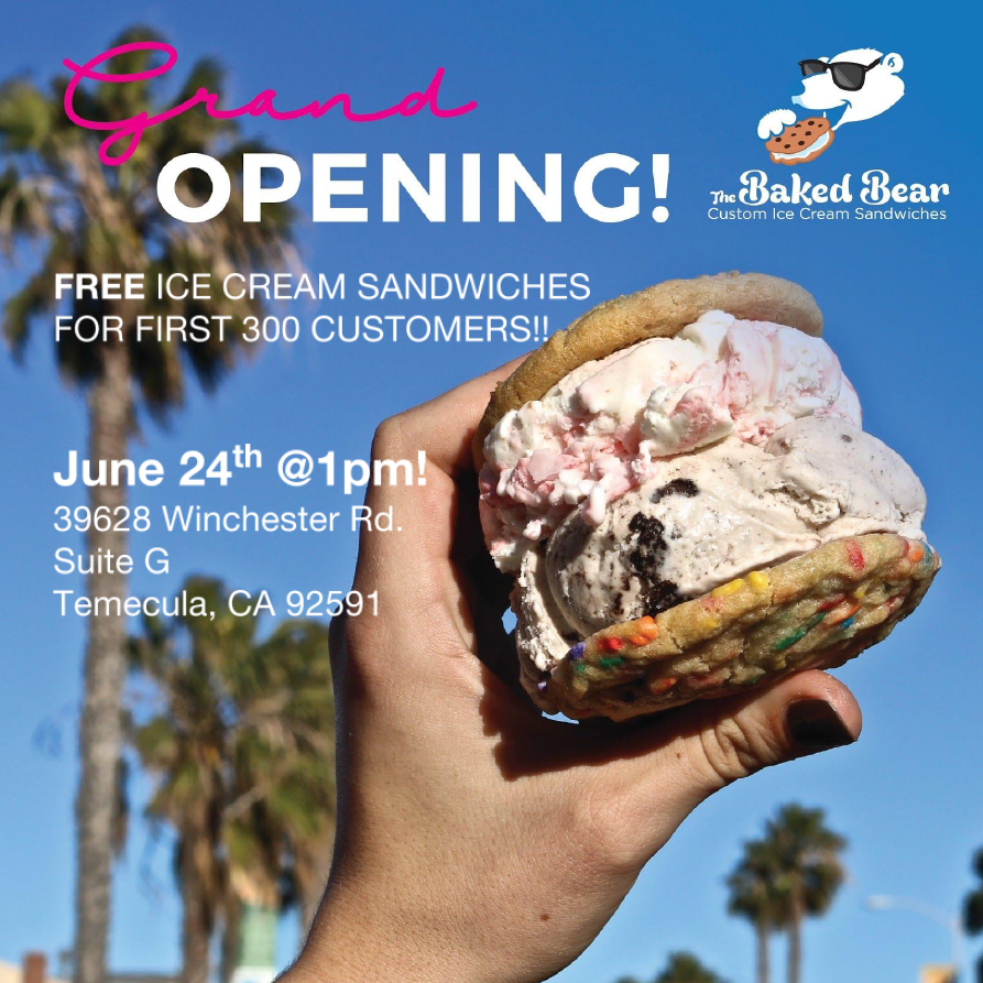 Ribbon Cutting - The Baked Bear @ The Baked Bear | Temecula | California | United States