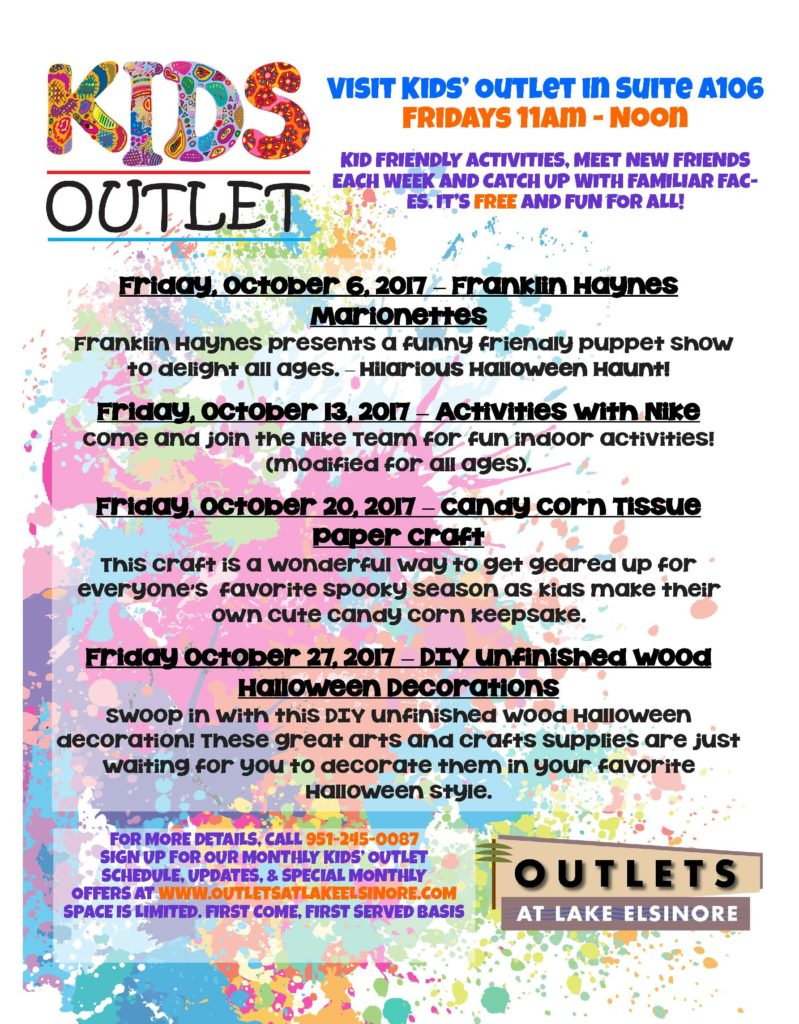 OutletsOctober