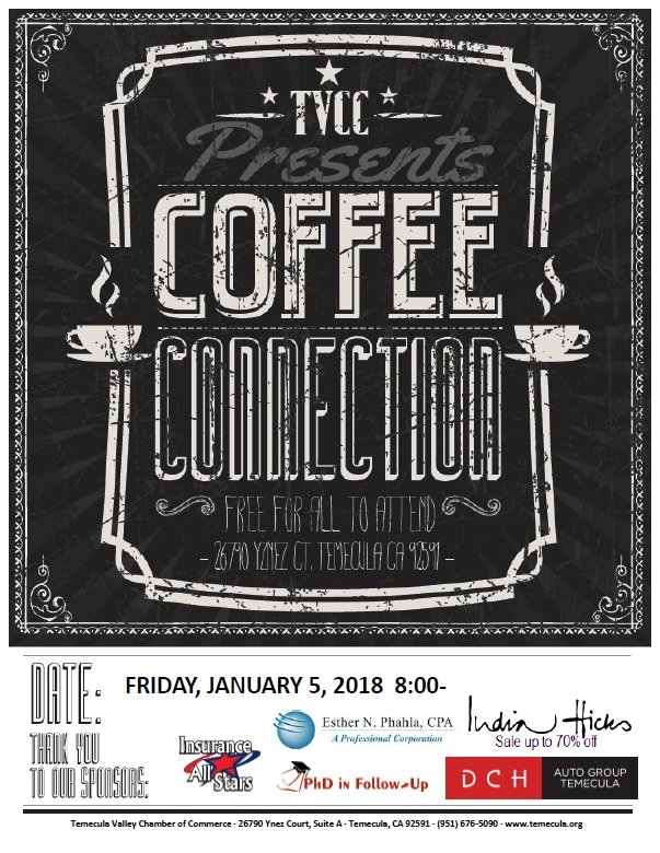 Coffee Connection @ Temecula Valley Chamber of Commerce | Temecula | California | United States