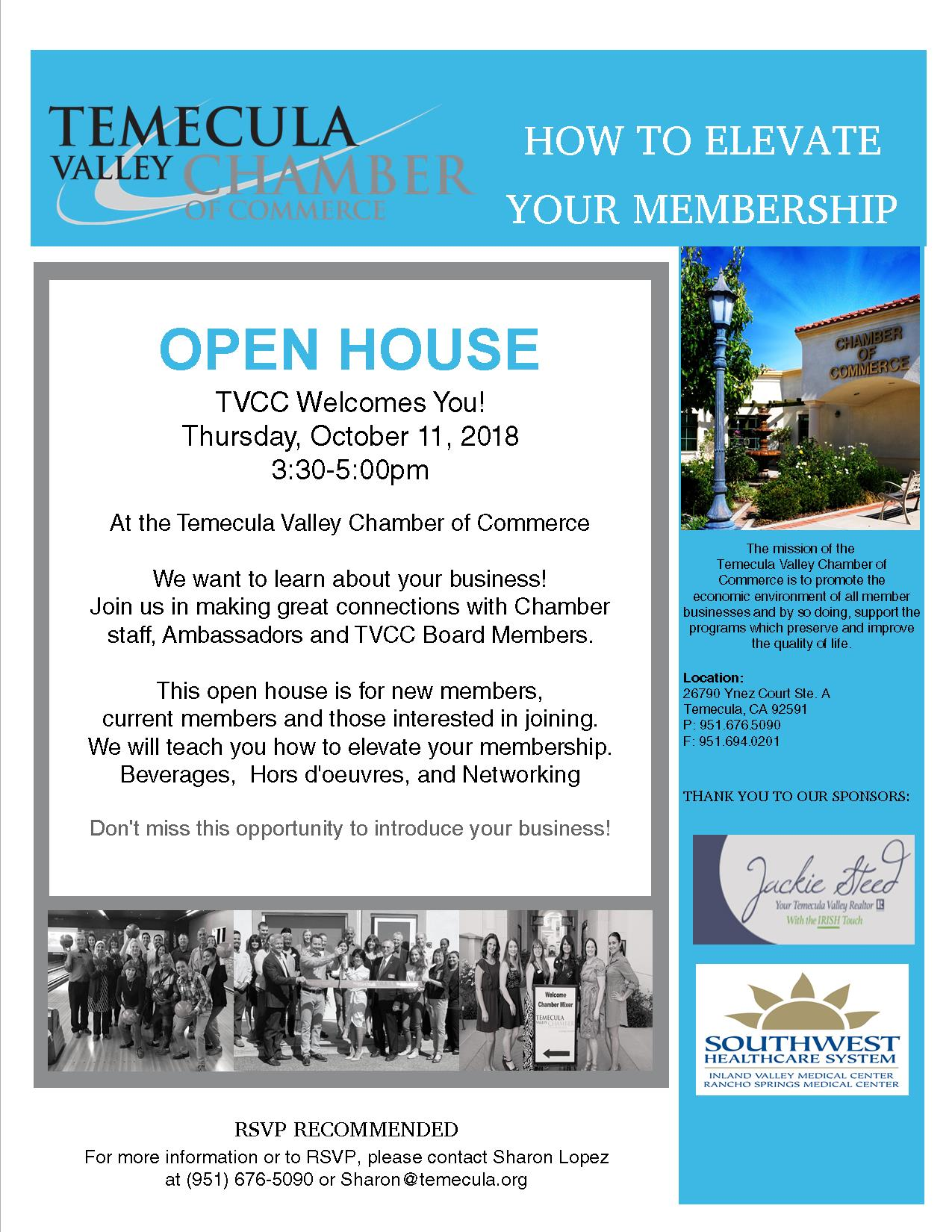 Open House October