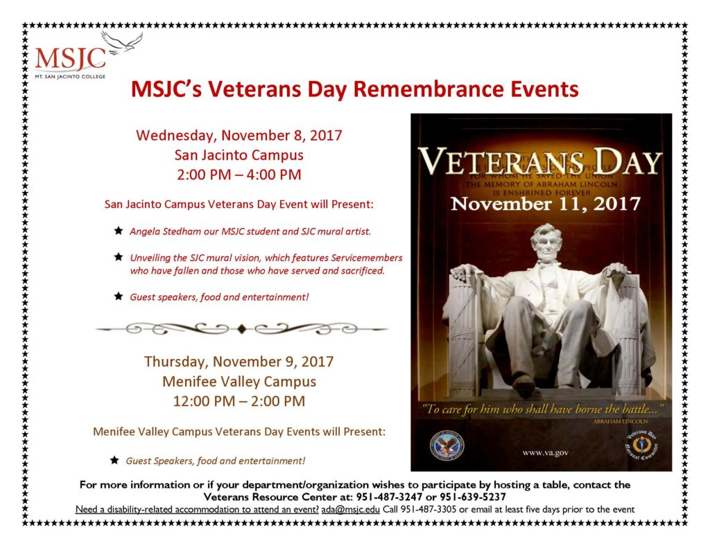 Veterans Day Event Flyer Final