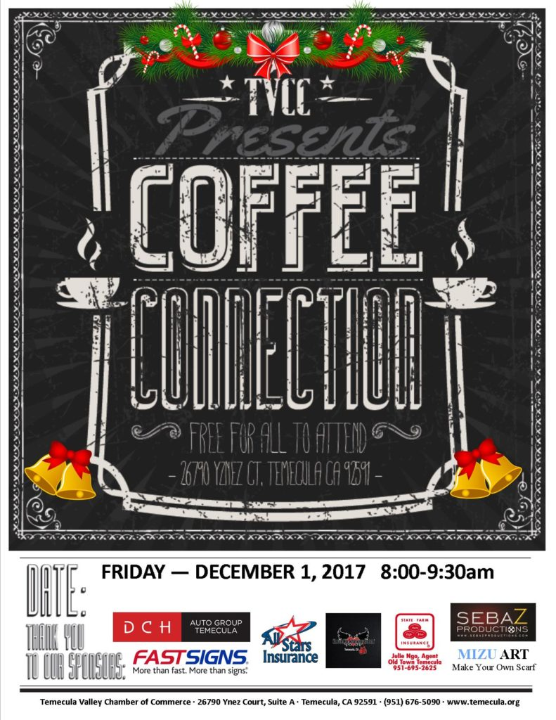 Coffee Conn 2017 December Flyer