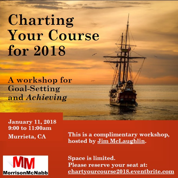 Charting Your Course for 2018 @ Coworking Connection  | Murrieta | California | United States