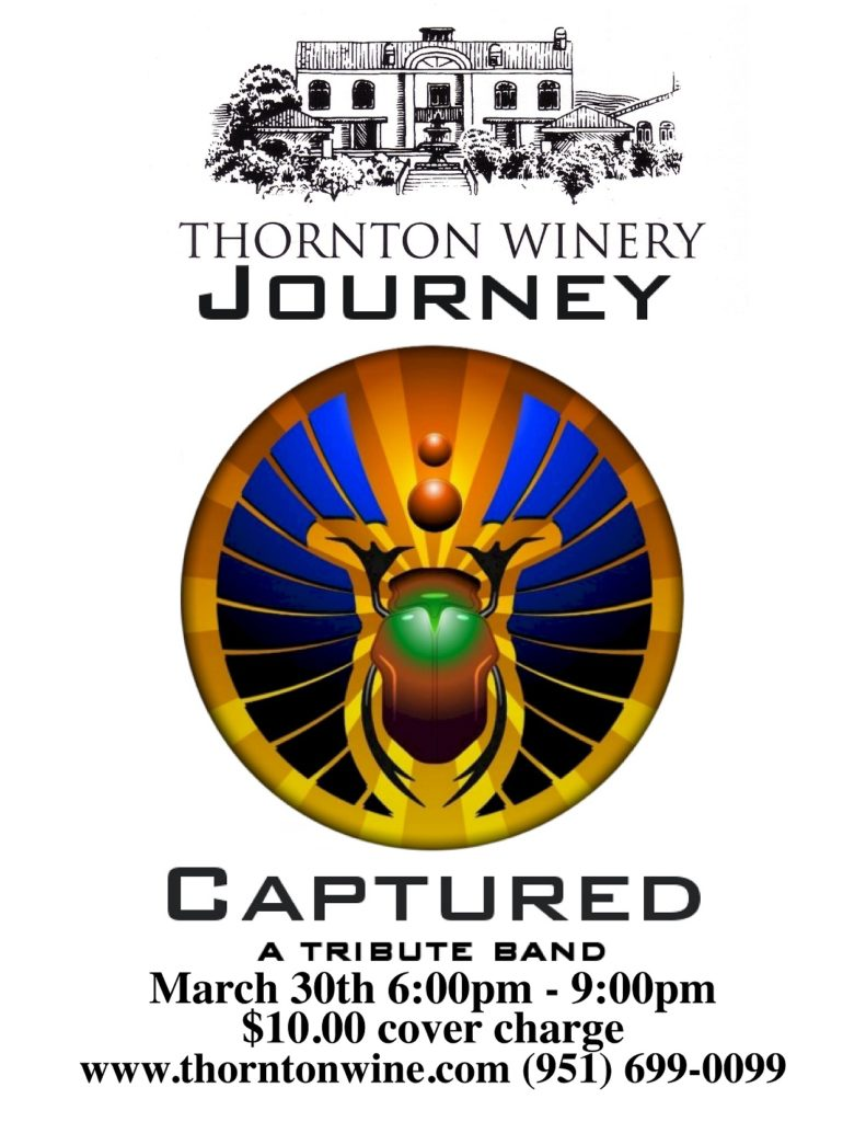 Journey Captured at Thornton Winery @ Thornton Winery | Temecula | California | United States