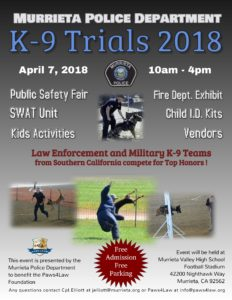 MPD K-9 Trials Flyer