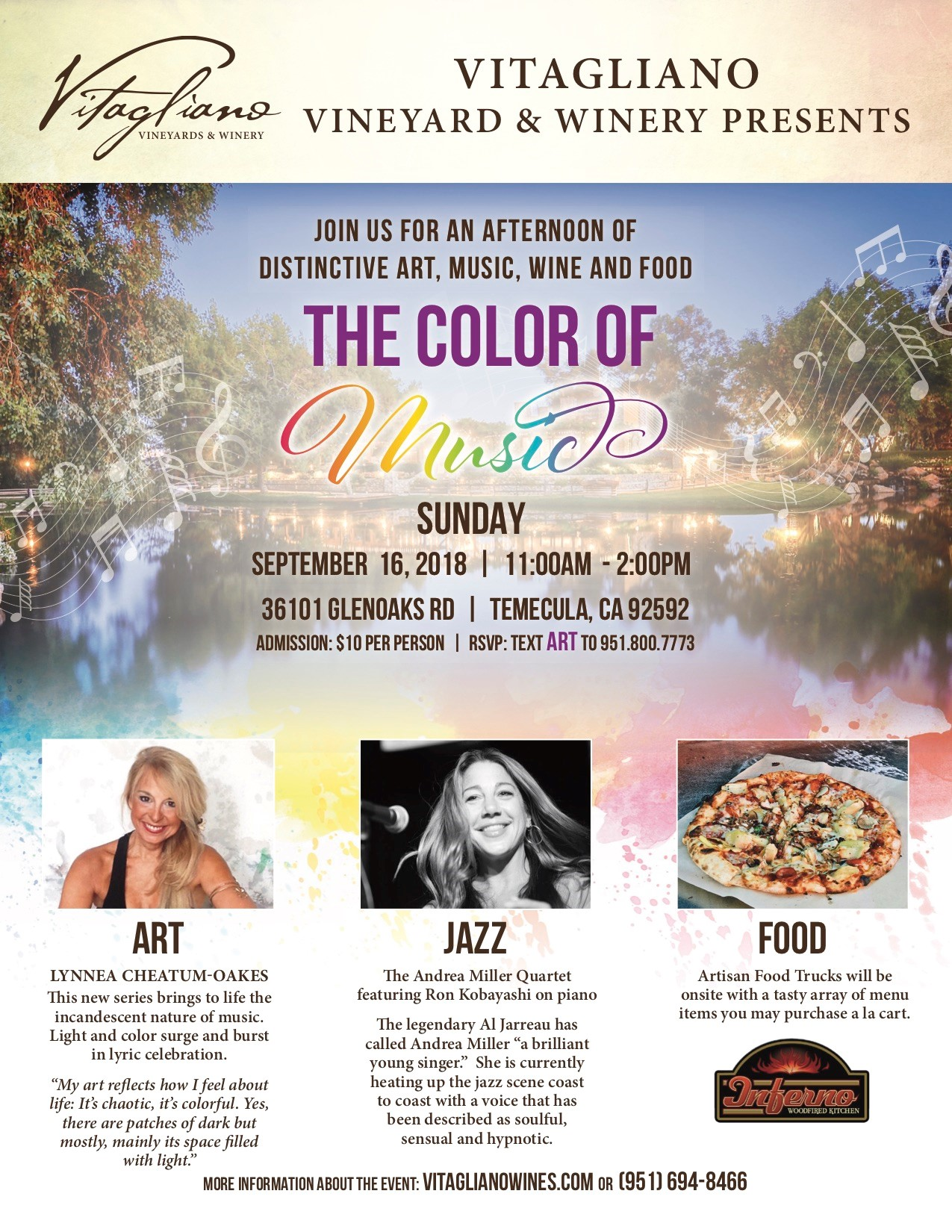 The Color of Music @ Vitagliano Vineyards | Temecula | California | United States