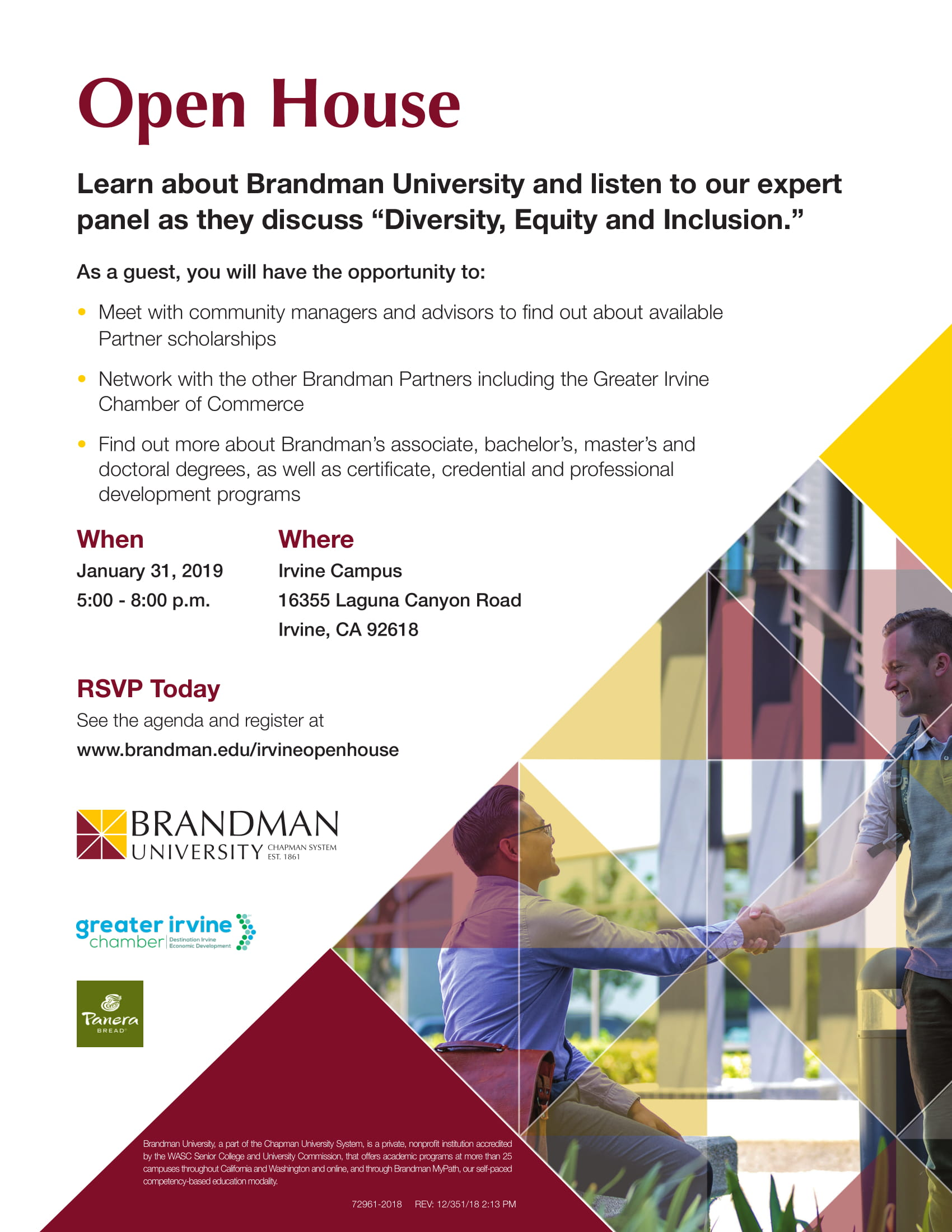 Brandman University-Open House @ Irvine Campus