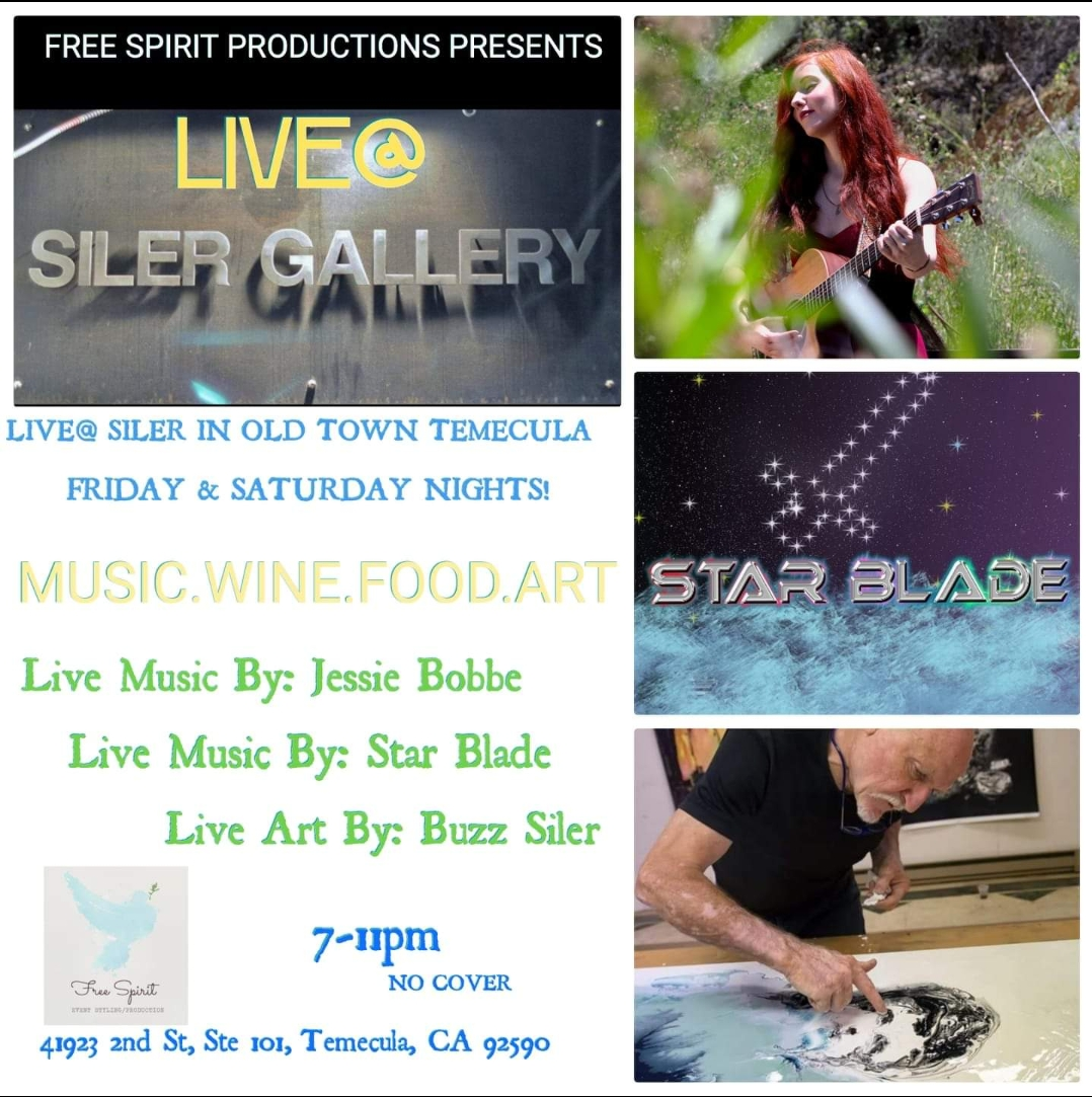 Free Spirit Productions - Live @ Siler Gallery @ Siler Art Gallery