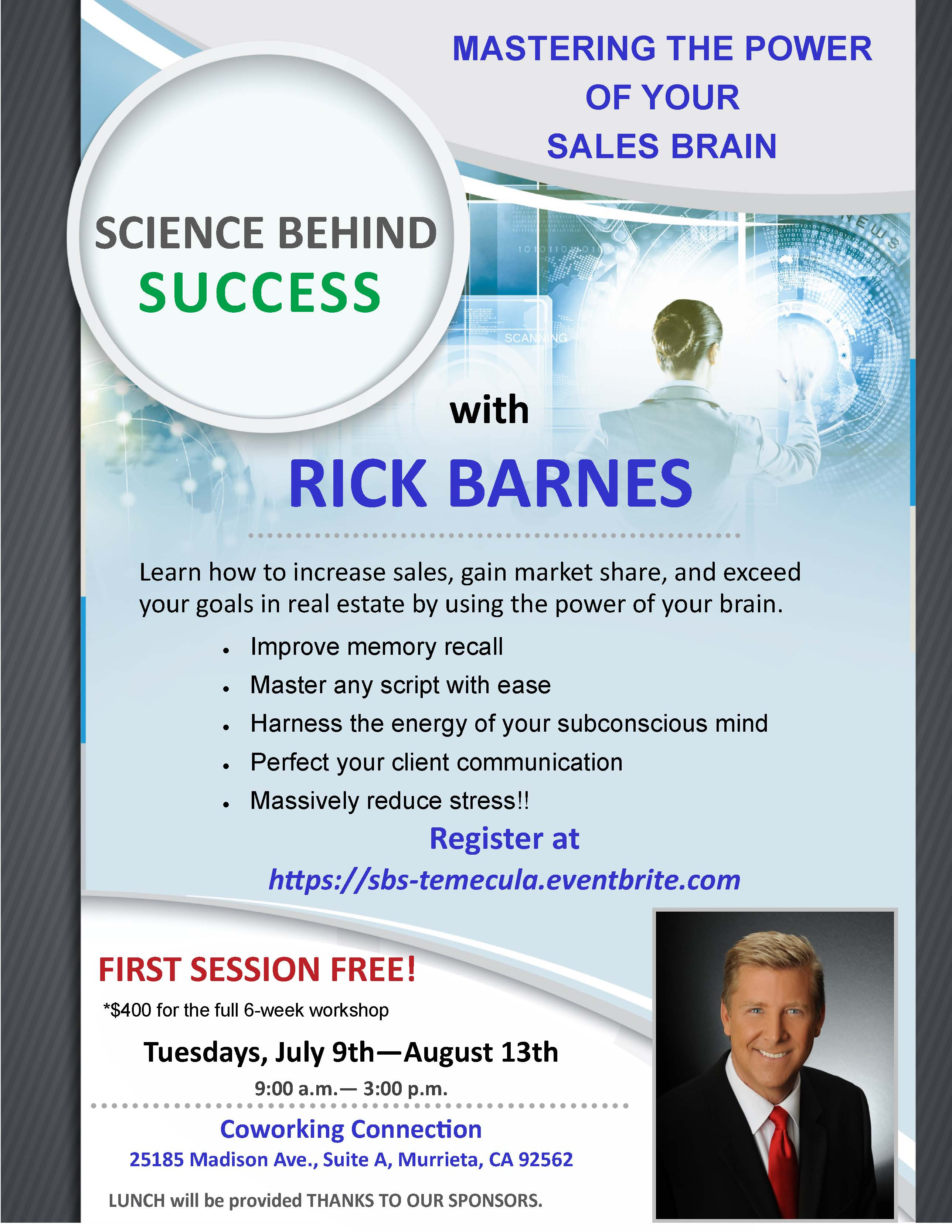 Temecula Valley Real Estate - Science Behind Success @ Coworking Connection