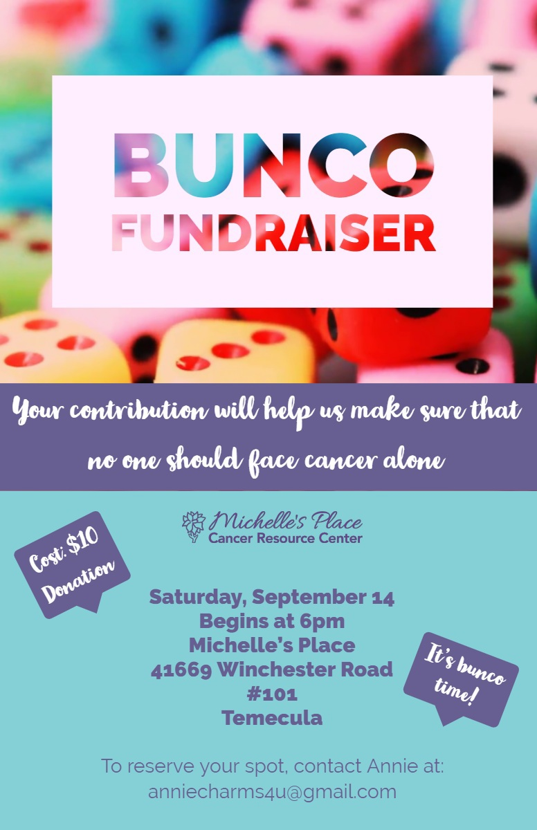 Bunco Fundraiser: Michelle's Place