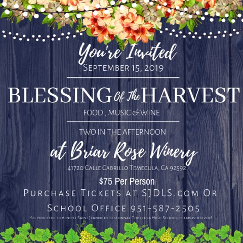 Blessing of the Harvest at Briar Rose Winery @ Briar Rose Winery