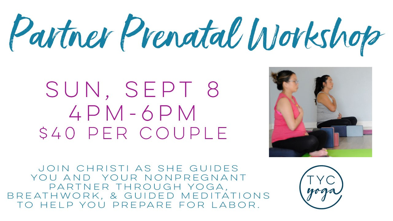 Temecula Yoga Collective - Prenatal Workshop @ Temecula Yoga Collective