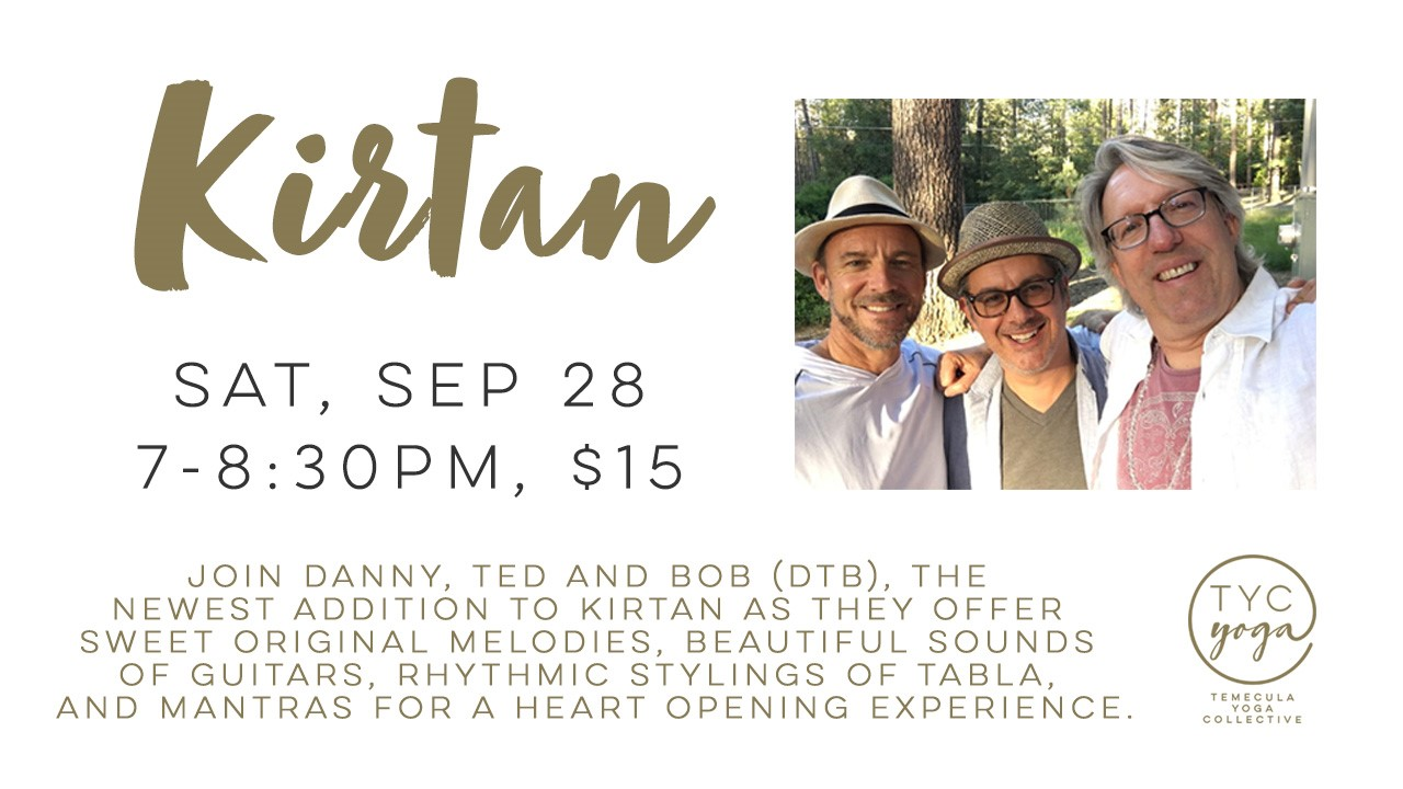 Temecula Yoga Collective - Kirtan @ Temecula Yoga Collective