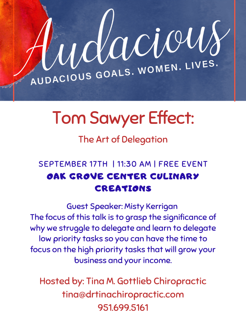 The Art of Delegation - The Tom Sawyer Effect