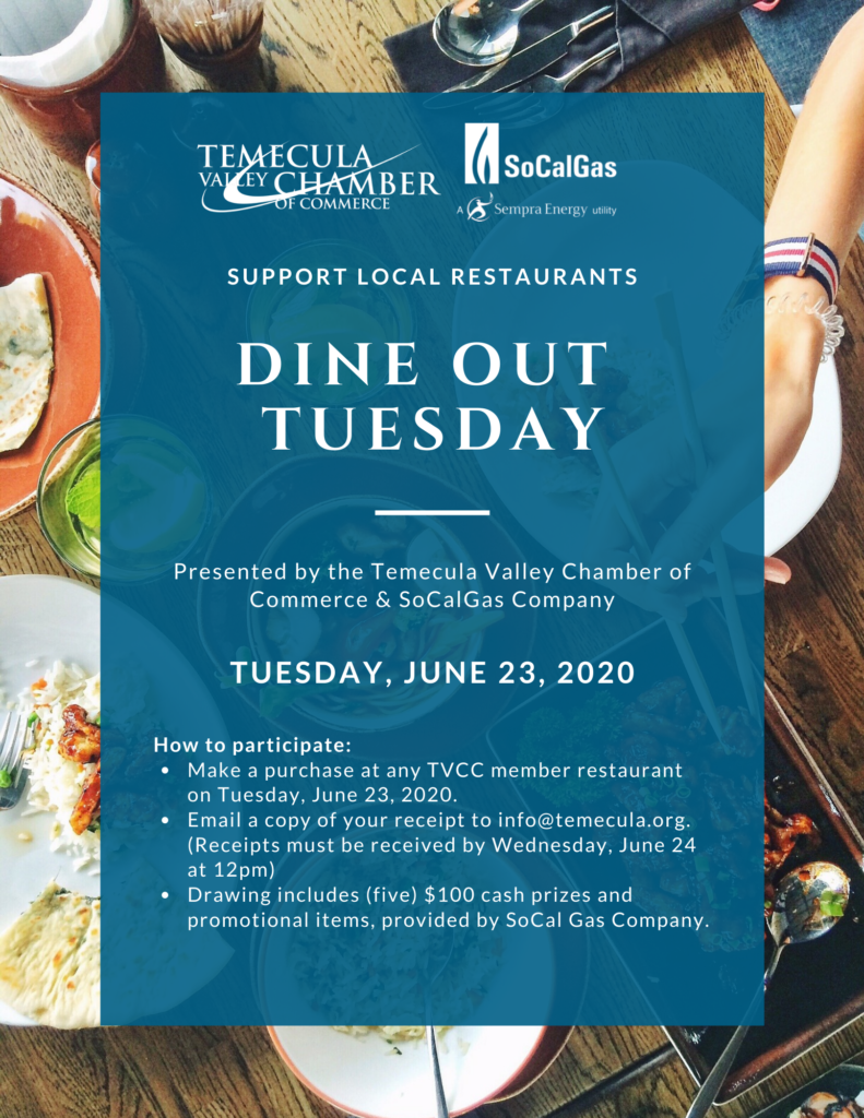 Dine Out Tuesday